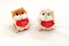 """I Love You"" Hamsters"