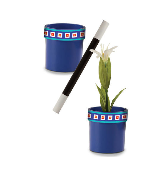 Magic In A Snap: Magic Flowerpot and Wand
