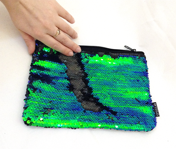 Magic Sequin Mermaid Zipper Pouch