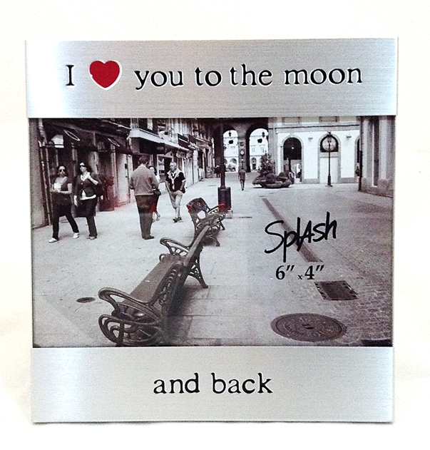 I Love You To The Moon And Back Picture Frame Sunnybrook Gift Shop