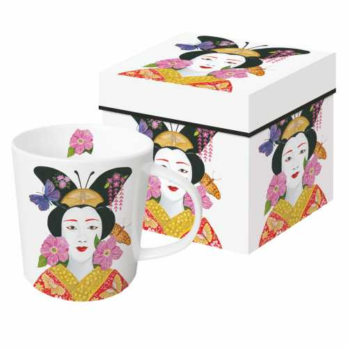 Madame Butterfly Mug in a Gift Box