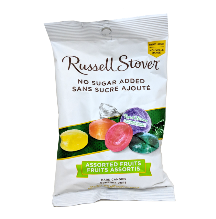 Russell Stover NSA Hard Fruit Candies (150g)