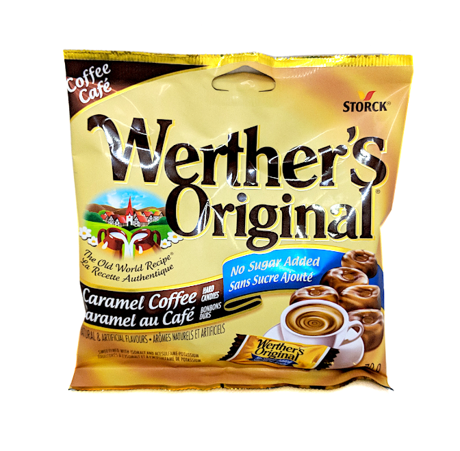 Werther's Original Caramel Coffee (No Sugar Added) 70g