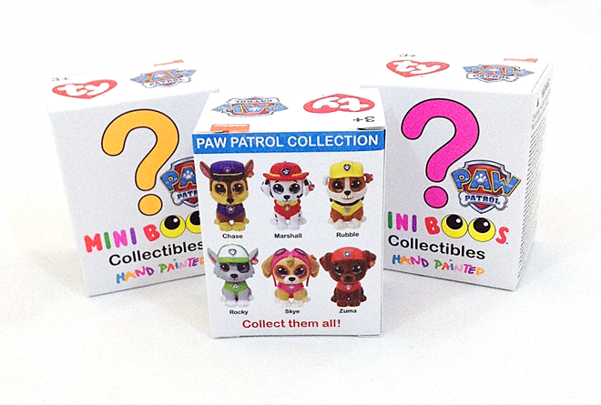 Blind Box TY Mini-Boos Collectibles: Paw Patrol Edition!