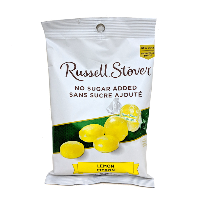 Russell Stover No Sugar Added Lemon Drops