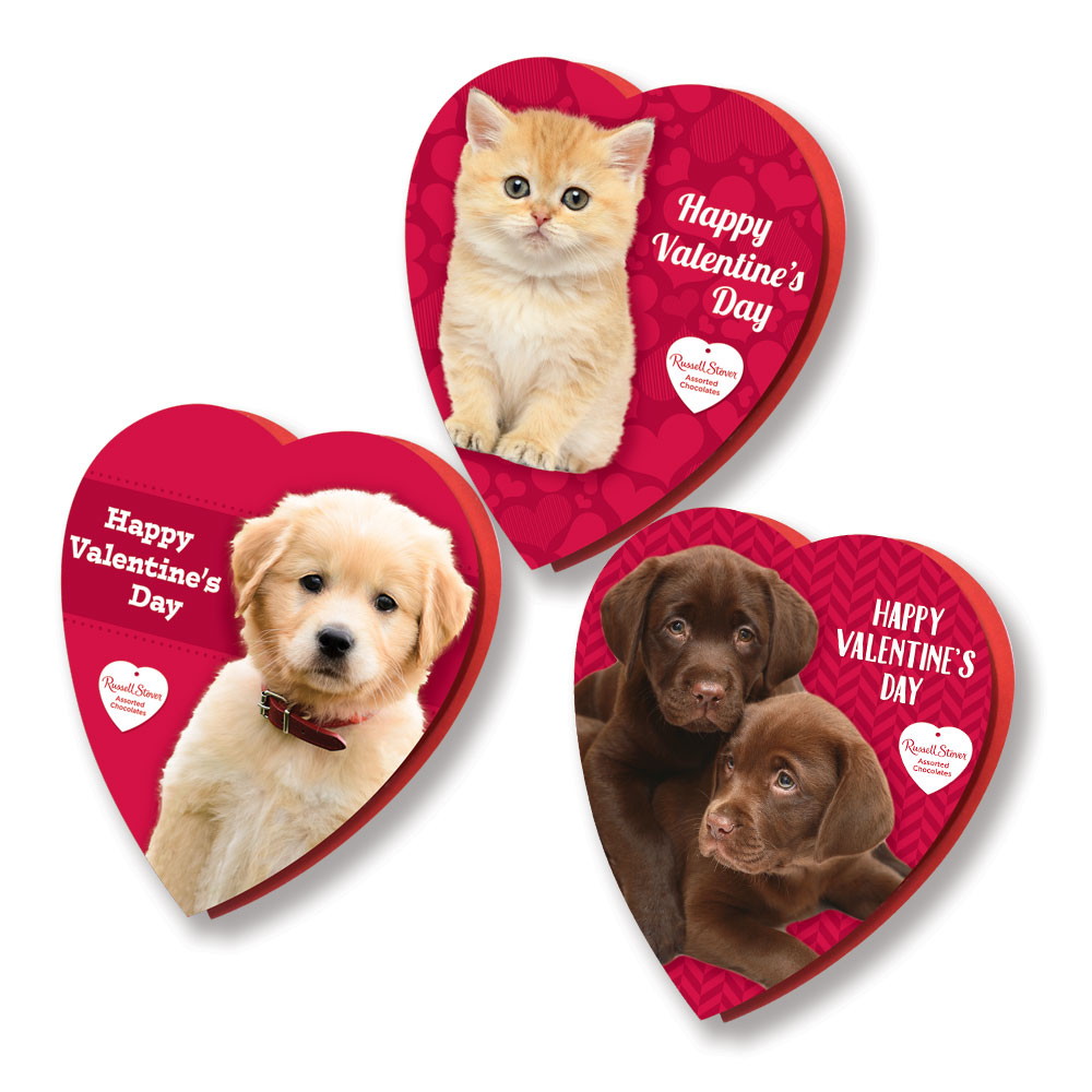 Russell Stover Assorted Pet Heart