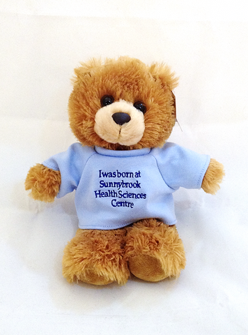 I was Born at Sunnybrook Brown Bear, Blue