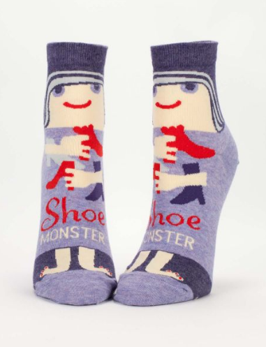 Blue Q - Shoe Monster Ankle Socks