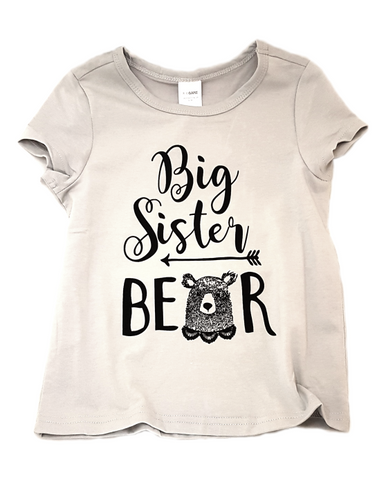 Big Brother/Sister Bear Shirt