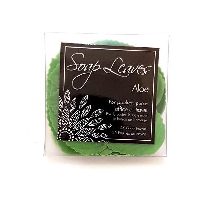 Aloe Soap Leaves