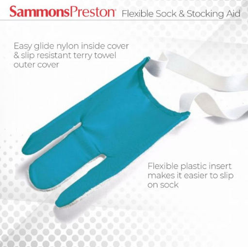 Flexible Sock & Stocking Aid