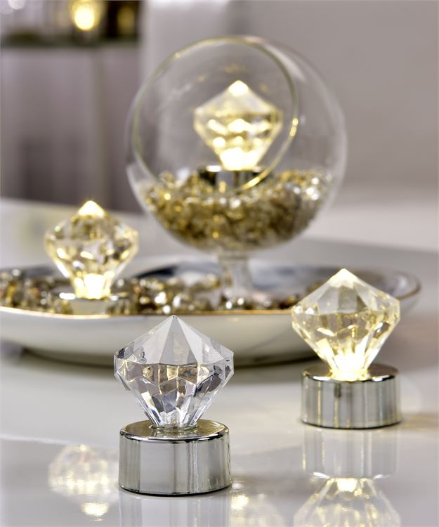 Diamond Tealights