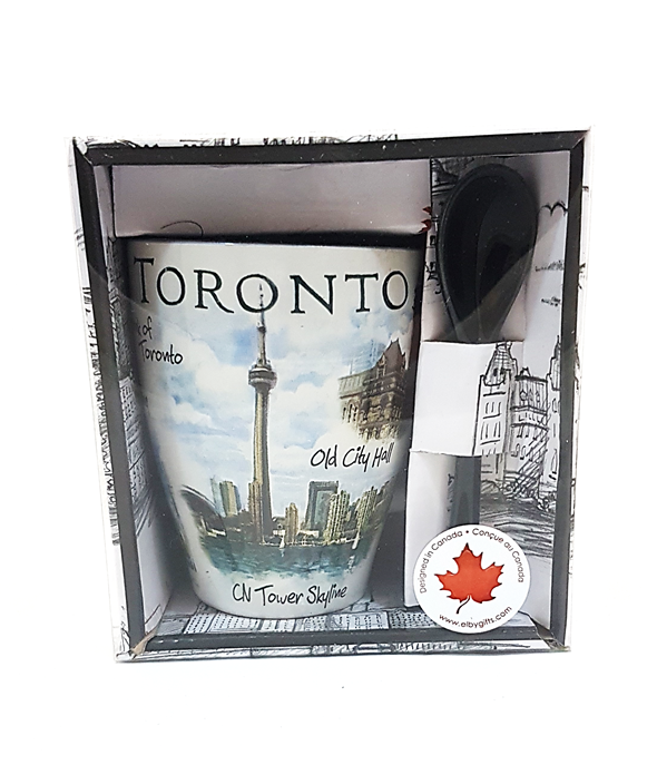 Toronto Mug & Spoon Gift Set