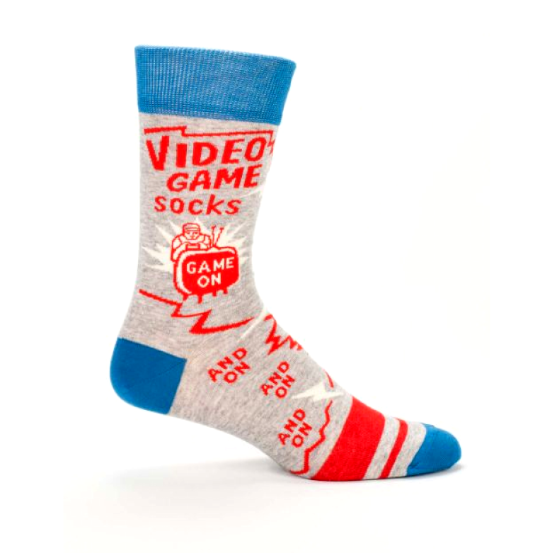 Blue Q - Video Game Men's Socks