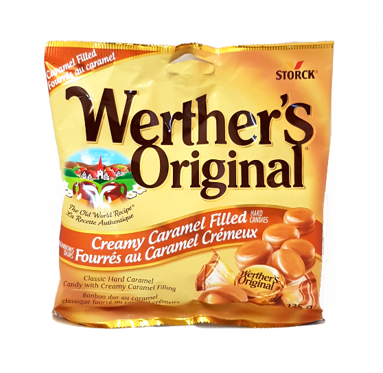 Werther's Creamy Caramel Filled Hard Candies (135g)