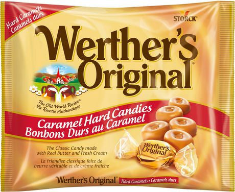 Werther's Original Caramel Hard Candies (135g)