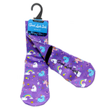 Good Luck Sock: Unicorns (Size 5-9)