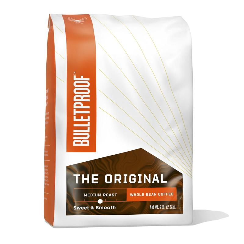 Bulletproof Australia Original Medium Roast Whole Bean Coffee 5lb
