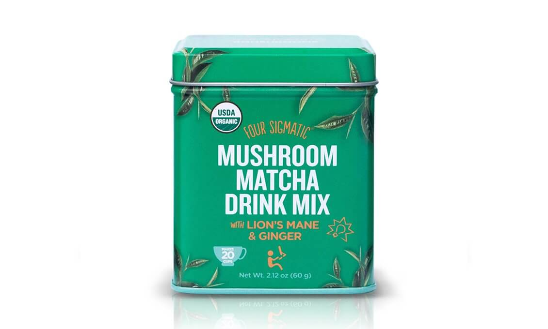 Four Sigmatic Mushroom Matcha with Lion's Mane - 20 servings