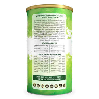 Great Lakes Collagen Hydrolysate (Green Can)