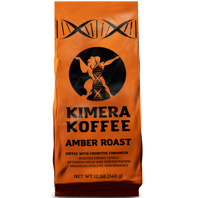 Kimera Koffee Amber Blend Organic Ground - 340g