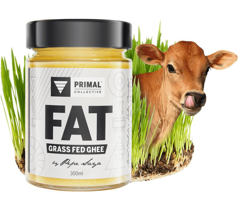 FAT: Ghee from Australian Grass Fed Cows. Made by Pepe Saya