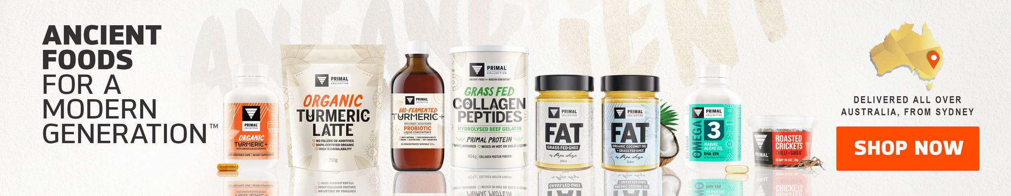 Primal Collective Ancient Foods and Supplements