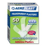Aeroplast Transparent Strip 72mm x 19mm x 50