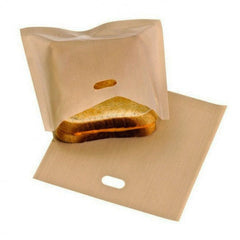 Toasta Tosties Sandwich Bags for Toaster Pack of 2 - FREE SHIPPING