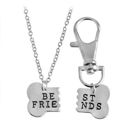 Image of Best Friend Necklace & Tag for You & Your Dog!
