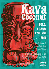 Kava Coconut Poster