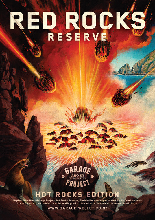 Red Rocks Reserve Poster
