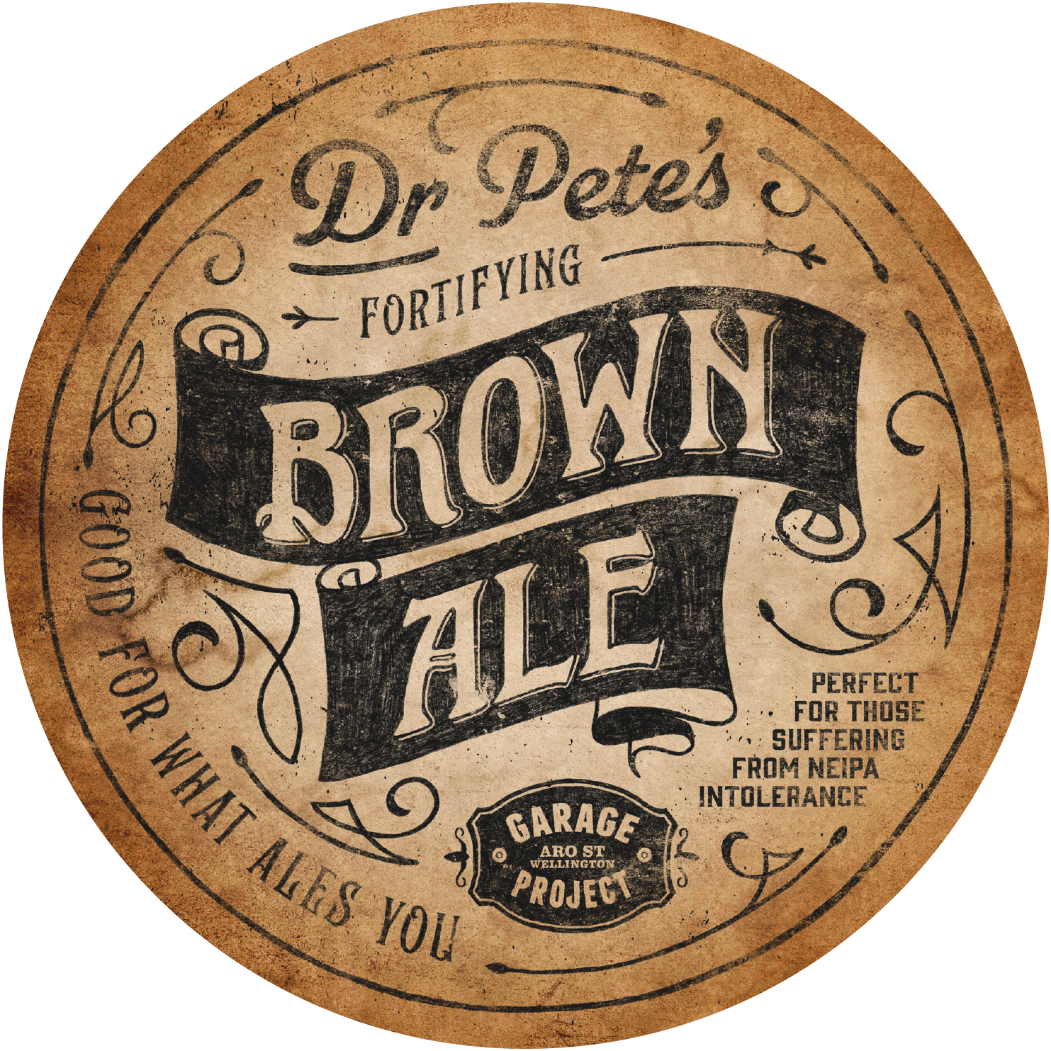 Dr. Pete's Fortifying Brown Ale