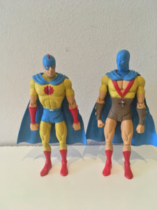 DC Direct The Atom twin pack Pre owned Loose Action Figure