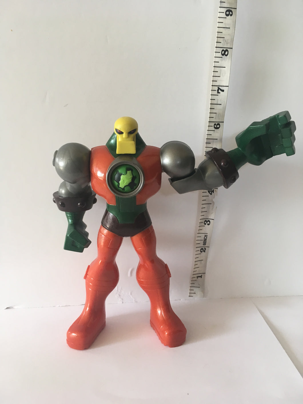 Kryptonite Collision Metallo Pre Owned Loose Action Figure