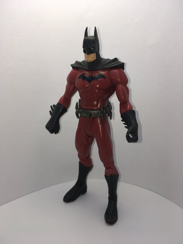 DC Batman Red Suit Preowned Loose Action Figure