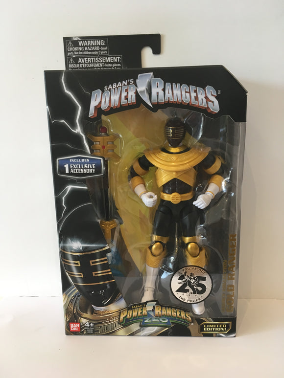 Power Rangers Legacy Zeo Gold Ranger Figure