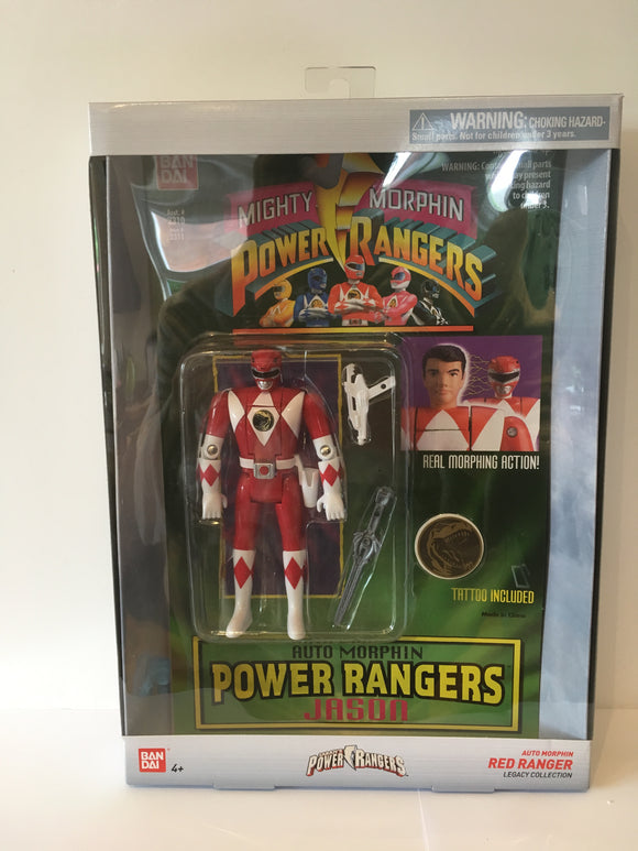 Power Rangers Auto Mighty Morphin Jason Figure