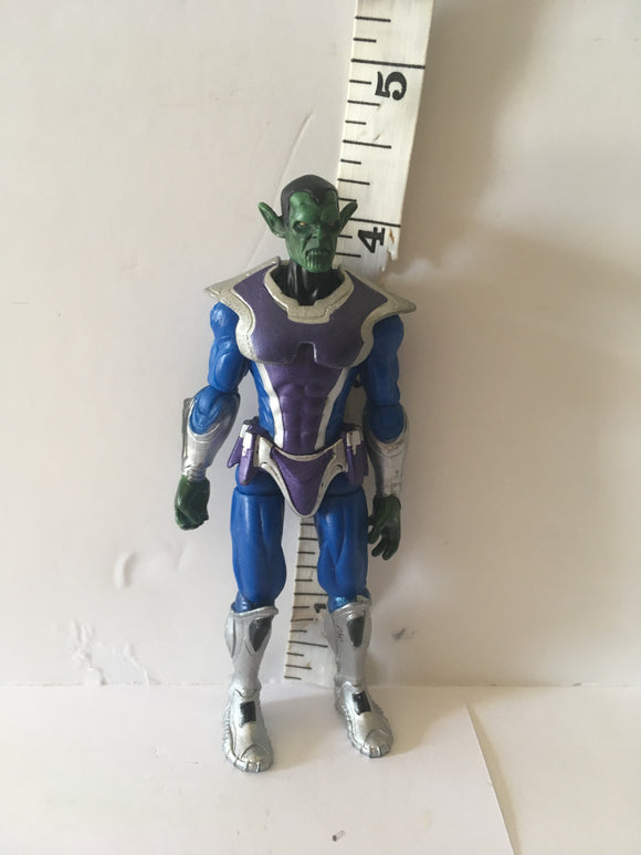 Marvel Universe Avengers 3.75 Skrull Soldier Pre Owned Loose Action Figure