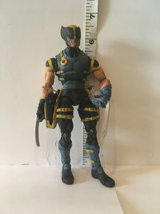 Marvel X-Men Stealth Wolverine Toy Biz 2005 Pre Owned Loose Action Figure