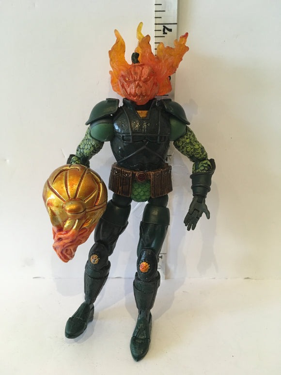 Spider-Man Classics Flame and Launch Jack-O-Lantern Pre Owned Loose Action Figure