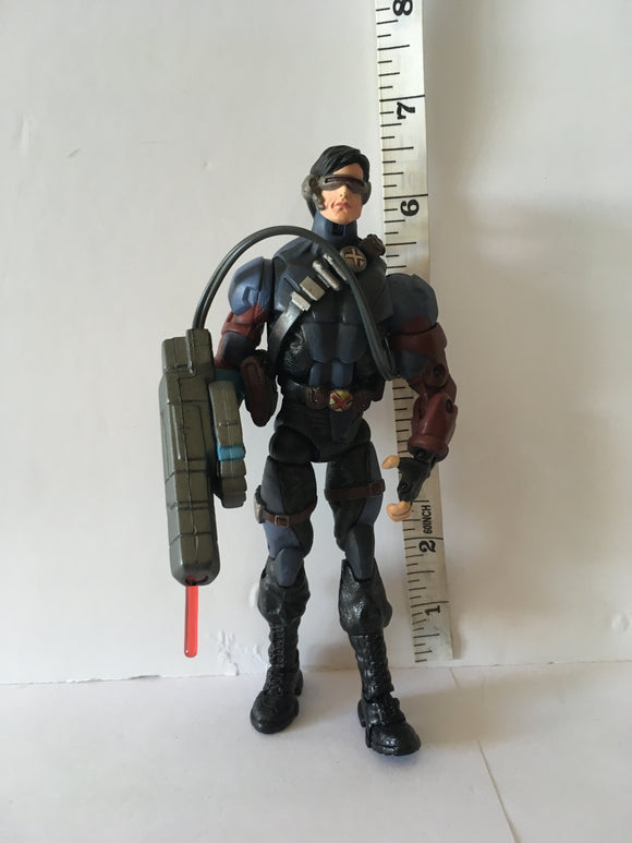 Marvel Legends X-Men Classics Stealth Cyclops by Toy Biz  Pre Owned Loose Action Figure