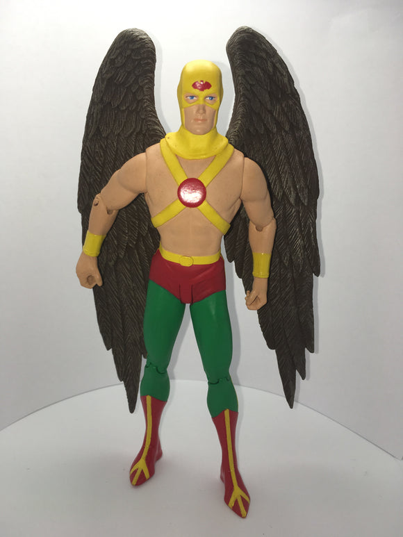 DC Direct Reactivated Series All Stars Comics Supersquad HAWKMAN Pre owned Loose Action Figure