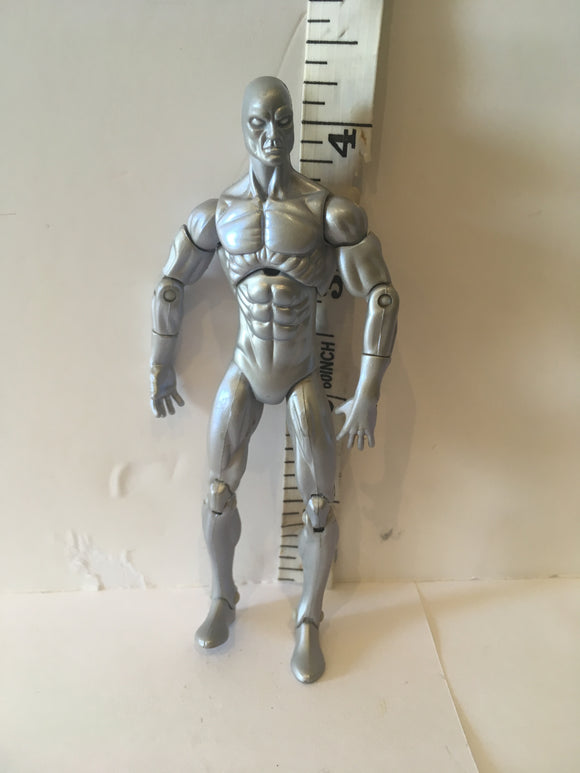 Marvel Universe 3.75 Silver Surfer Pre Owned Loose Action Figure