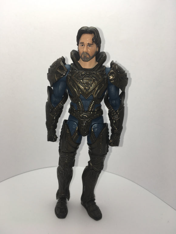 DC Moviemasters Jor el Pre owned Loose Action Figure