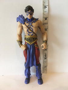 DC Direct Blackest night Indigo Tribe The Atom Pre owned Loose Action Figure