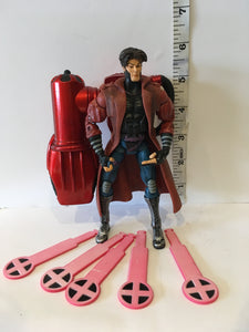 Marvel X-Men Toybiz Classics Gambit Pre owned Loose Action Figure
