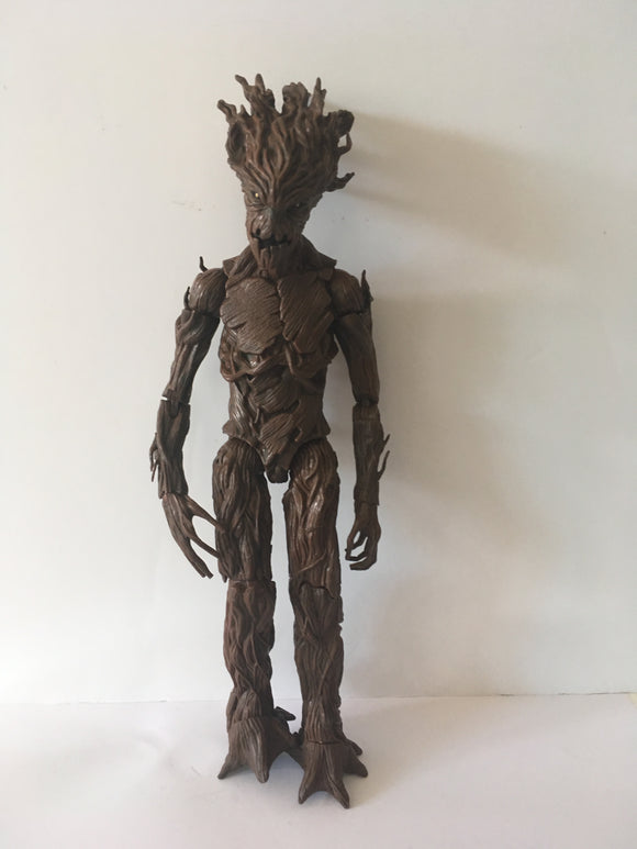 Marvel Legends Guardians of the Galaxy Groot EE Exclusive Pre Owned Loose Action Figure
