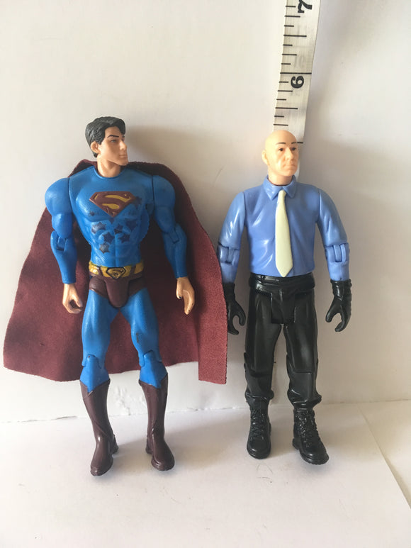 Lex Luther V Superman Returns Movie 2 Pk Pre Owned Loose Action Figure
