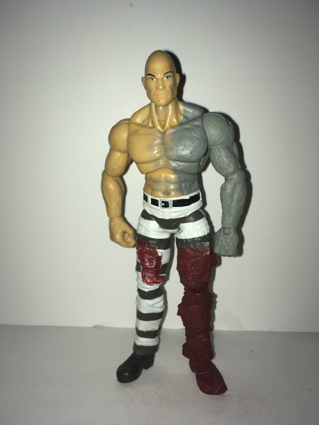 Marvel Legends  Absorbing Man (Fin Fang Foom wave no accessories) Preowned Loose Action Figure
